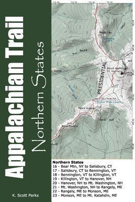 Appalachian Trail Pocket Maps - Northern States  by  K. Scott Parks