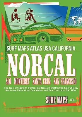 Surfmaps USA Norcal  by  Surf Maps