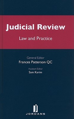 Judicial Review: Law and Practice Frances Patterson