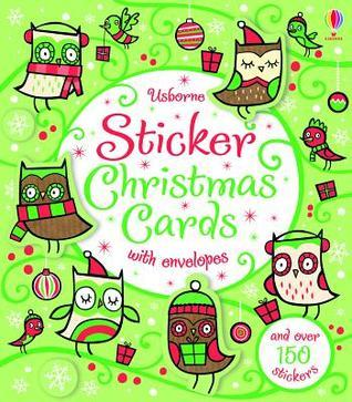 Sticker Christmas Cards  by  Candace Whatmore