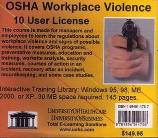 OSHA Workplace Violence, 10 Users  by  Daniel Farb