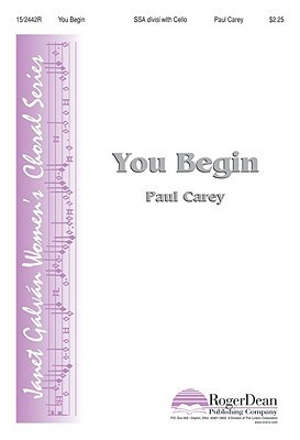 You Begin  by  Paul Carey