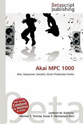 Akai MPC 1000 NOT A BOOK