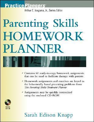 Parenting Skills Homework Planner [With CDROM]  by  Sarah Edison Knapp