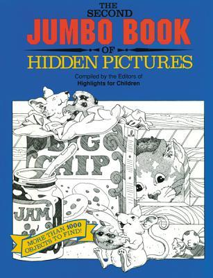 The Second Jumbo Book of Hidden Pictures® Highlights for Children