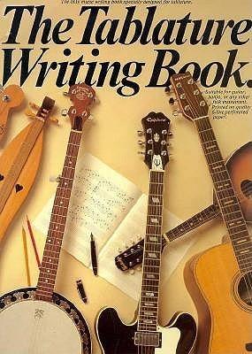 Tablature Writing Book Music Sales Corporation