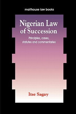 Nigerian Law of Succession Itse Sagay