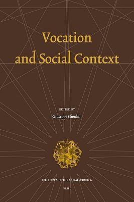 Vocation and Social Context Giuseppe Giordan