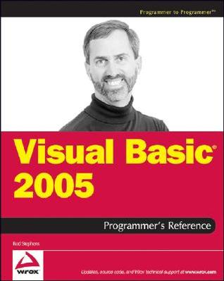 Visual Basic 2012 Programmers Reference Rod Stephens