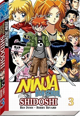 Shidoshi Pocket Manga Volume 3 Robby Bevard