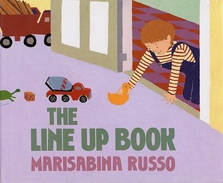 The Line Up Book Marisabina Russo