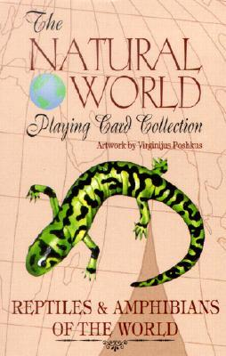 The Natural World Playing Card Collection: les & Amphibians of the World  by  Virginijus Poshkus