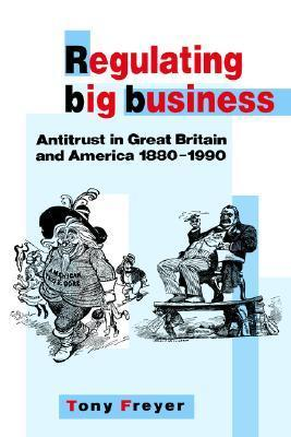 Regulating Big Business: Antitrust In Great Britain And America, 1880 1990  by  Tony Freyer