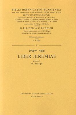 Hebrew Jeremiah-FL  by  Wolfgang Rudolph