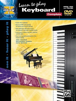 Learn To Play Keyboard  (Book & DVD) (Alfreds Max)  by  Kate Westin