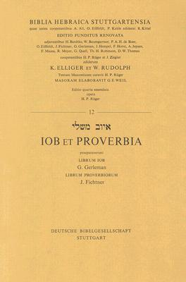 Hebrew Job and Proverbs  by  Anonymous