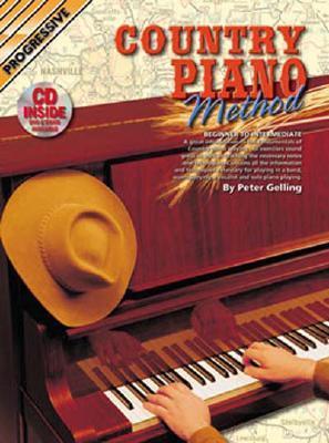 Country Piano Method Bk/CD: Beginner to Intermediate  by  Peter Gelling