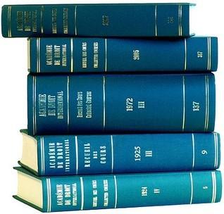 Temporary Title 19991103: Volume 84 (1953/III)  by  Academie de Droit International de la Haye