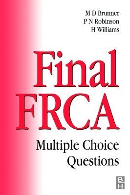 Final Frca: Multiple Choice Questions Michael D. Brunner