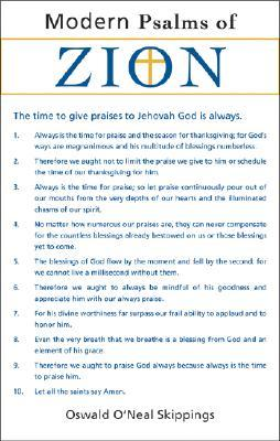 Modern Psalms of Zion  by  Oswald O. Skippings