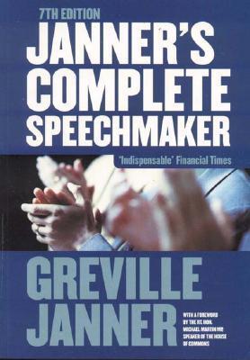 Janner Complete Speechmaker 7ed Greville Janner