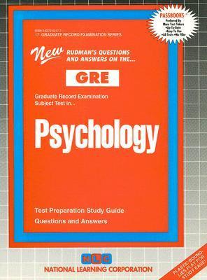 GRE Psychology National Learning Corporation