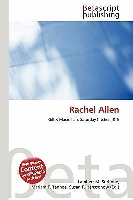 Rachel Allen  by  NOT A BOOK