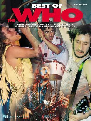 Best of the Who: Piano/Vocal/Guitar  by  World Health Organization
