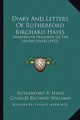 Teach the Freeman: The Correspondence of Rutherford B. Hayes and the Slater Fund for Negro Education 1881 - 1893 Rutherford B. Hayes