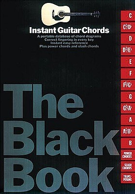 The Black Book - Instant Guitar Chords Music Sales Corporation