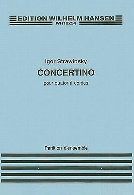 Concertino for String Quartet  by  Igor Stravinsky