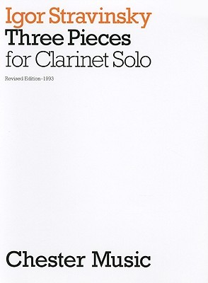 3 Pieces For Clarinet Solo  by  Nicholas Hare