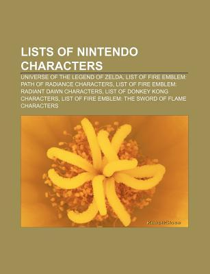 Lists of Nintendo Characters  by  Books LLC
