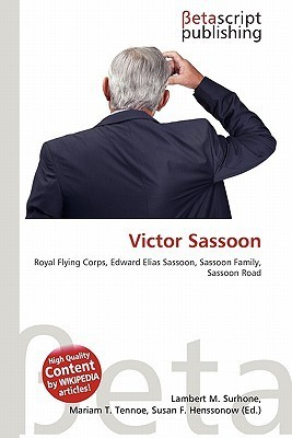 Victor Sassoon NOT A BOOK
