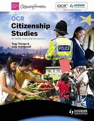 Understanding Citizenship 1 Tony Thorpe