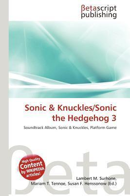 Sonic  Knuckles/Sonic the Hedgehog 3 NOT A BOOK