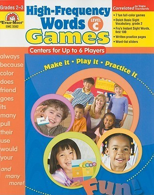 High-Frequency Words: Games, Grades 2-3: Level C: Centers for Up to 6 Players  by  Camille Liscinsky