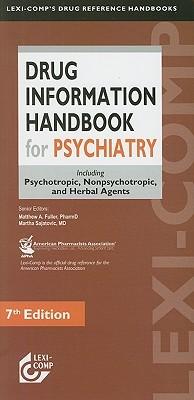Manual Informativo Sobre Medicamentos Psicotropicos Matthew A. Fuller