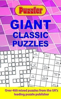 Puzzler Giant Classic Puzzles  by  Puzzler Media