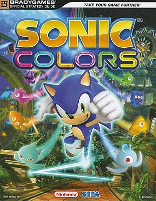 Sonic Colors Official Strategy Guide Rick Barba
