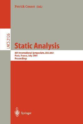Static Analysis: Third International Workshop, Wsa 93, Padova, Italy, September 22-24, 1993. Proceedings Patrick Cousot