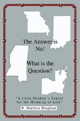 The Answer Is No! What Is the Question?: A Little Orphans Search for the Meaning of Life  by  B. Matthew Bingham
