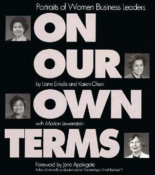On Our Own Terms  by  Liane Enkelis