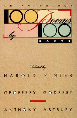 100 Poems 100 Poets: An Anthology by Harold Pinter