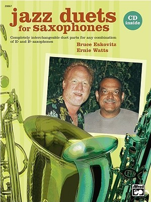 Jazz Duets for Saxophones: Book & CD  by  Ernie Watts