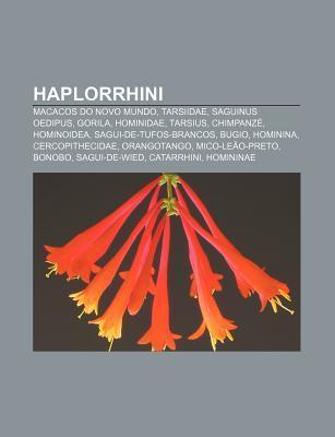 Haplorrhini: Macacos Do Novo Mundo, Tarsiidae, Saguinus Oedipus, Gorila, Hominidae, Tarsius, Chimpanz , Hominoidea, Sagui-de-Tufos-  by  Source Wikipedia