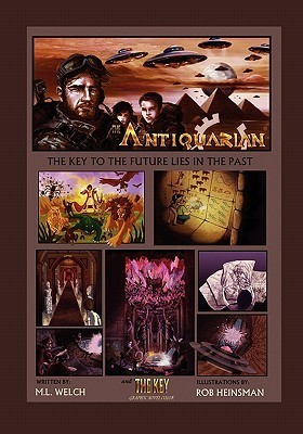 The Antiquarian and the Key Graphic Novel Color M. L. Welch