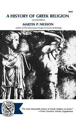 A History of Greek Religion Martin Persson Nilsson