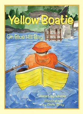 Yellow Boatie on Blue Hill Bay Helen Sylvester
