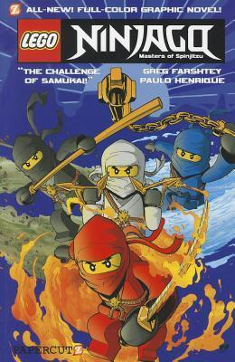 Lego Ninjago, Masters of Spinjitzu. The Challenge of Samukai  by  Greg Farshtey